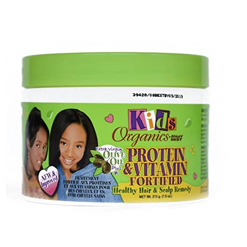 Africas Best Kids Organics Protein & Vitamin Fortified Healthly Hair & Scalp Remedy 7.5 oz.